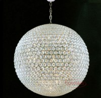 Chandelier With Crystal Balls | Interior Design Ideas