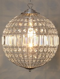 Glass Ball Chandelier Modern