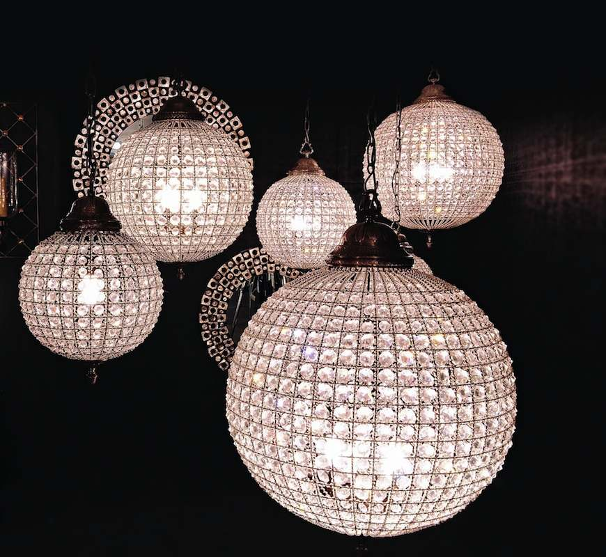 Crystal Ball Chandelier Is Preferred Over Other Types Of