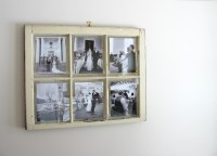Vintage Window Pane Picture Frame | Interior Design Ideas