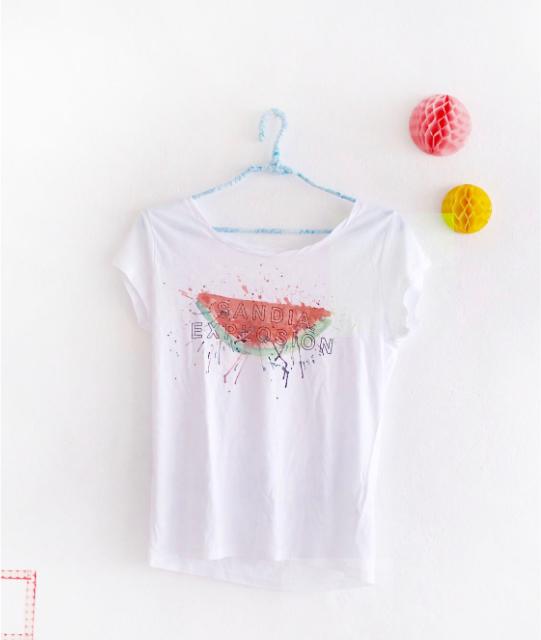 camiseta con sandia