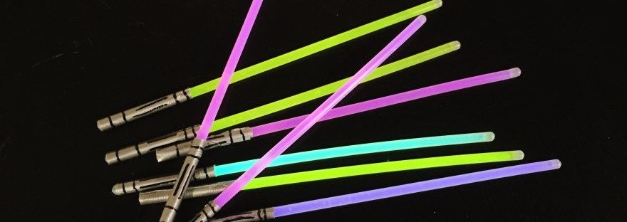 glow stick light saber