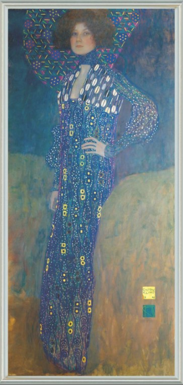Gustav Klimt Bildnis der Emilie Flöge
