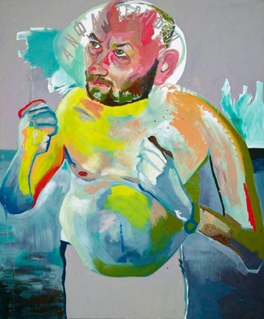 Martin Kippenberger, Selbstportrait, 1982