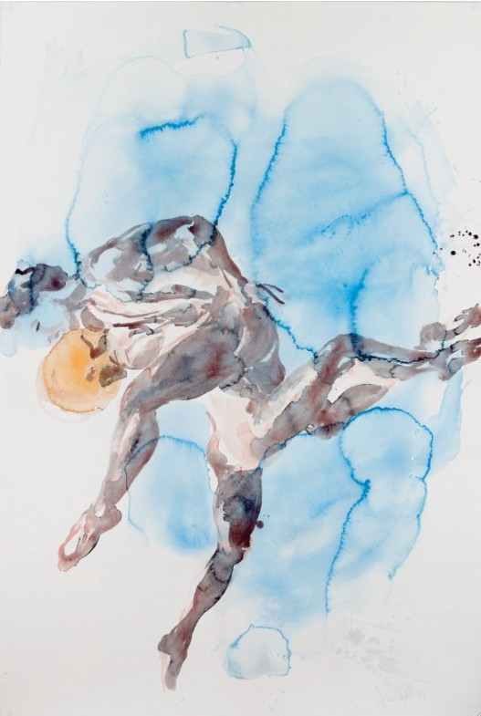 Eric Fischl: Untitled, 2004, Aquarelle, size: 60 x 40 in /152 x 102 cm