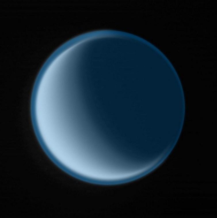 Thomas Ruff - Cassini 13, 2009, C-print, signed on verso, edition of 6, 115.9 x 115.9 x 4.4 cm 45.62 x 45.62 x 1.75 in
