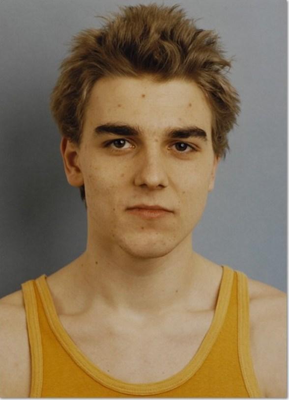 Thomas Ruff Portrait J Sasse