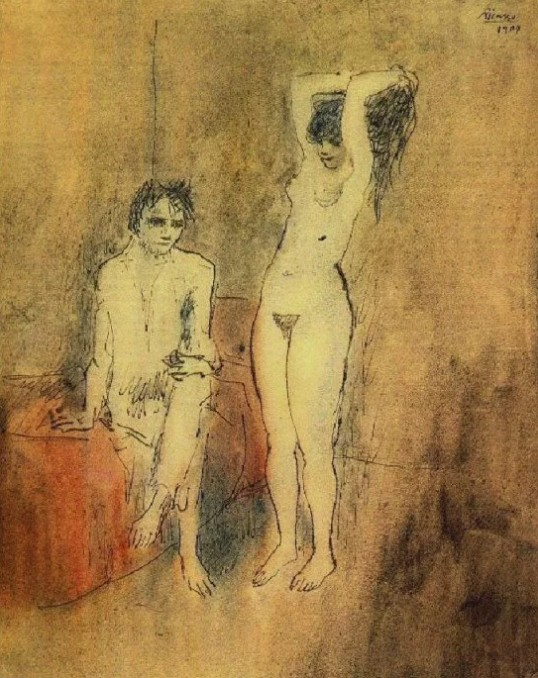 Pablo Picasso Couple, 1904
