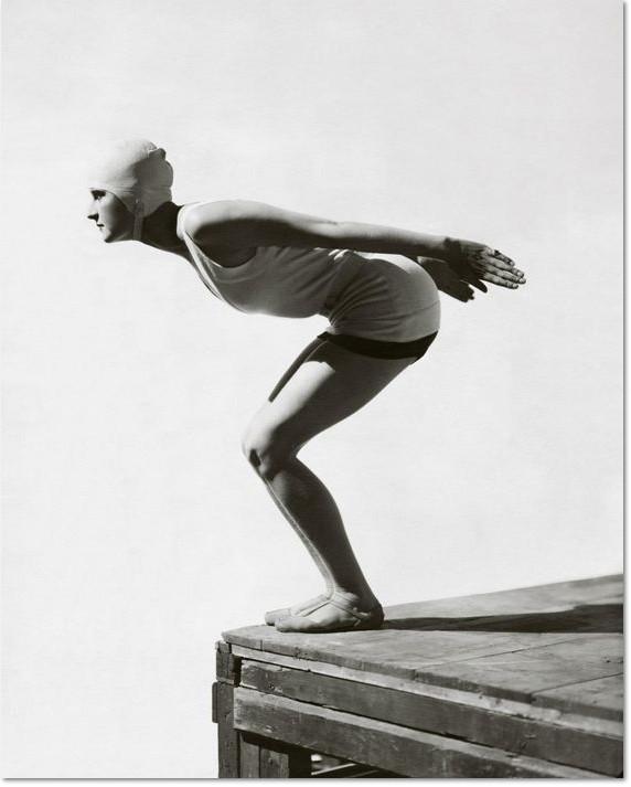 """George Hoyningen-Huene: """"Jean Patou Swimsuit"""", 1930"""