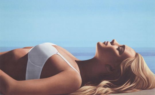 Richard Phillips Lindsay II (2013) Edition of 150 25 colour screen print on 410 gsm Somerset Tub-sized 49 x 80 cm (19 x 31.5 in)