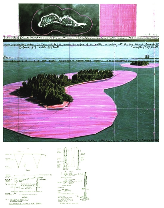 Christo und Jeanne-Claude: 'Surrounded Islands 1980 – 83',