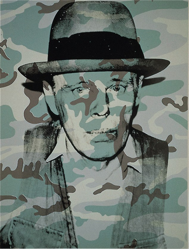 "Andy Warhol - Joseph Beuys in Memoriam 1986, From the portfolio For Joseph Beuys Silkscreen on rag paper, 80 x 60 cm (31½ x 23½""). Edition of 90 + XXX, signed and numbered"