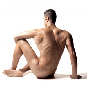 mannelijk naaktmodel