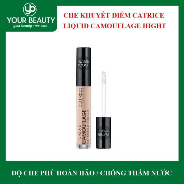 Kem Che Khuyết Điểm Catrice Liquid Camouflage High Coverage Concealer Lasts 12h