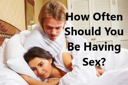 having sex