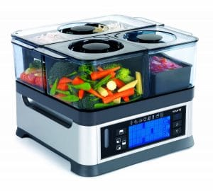 The best food steamer is the Viante CUC-30ST
