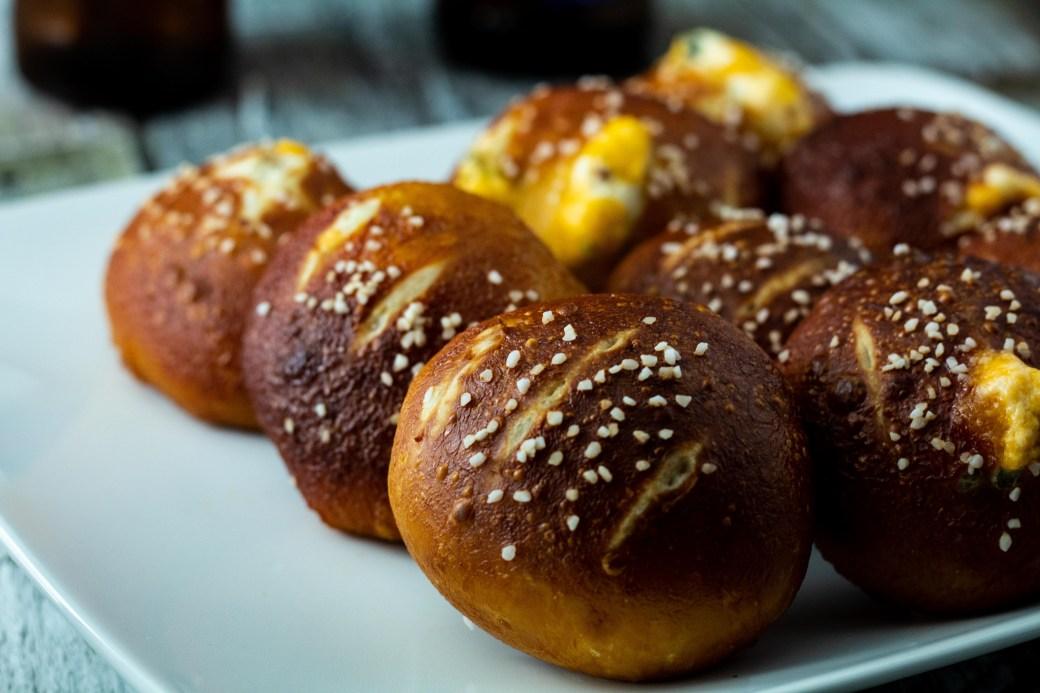 jalapeno popper stuffed pretzel balls