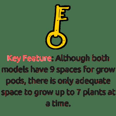 Aerogarden Bounty vs Elite growth pods
