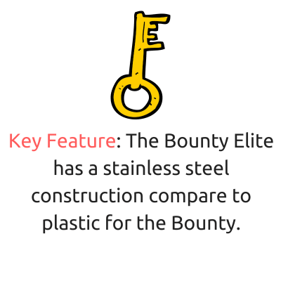 aerogarden bounty vs elite key feature