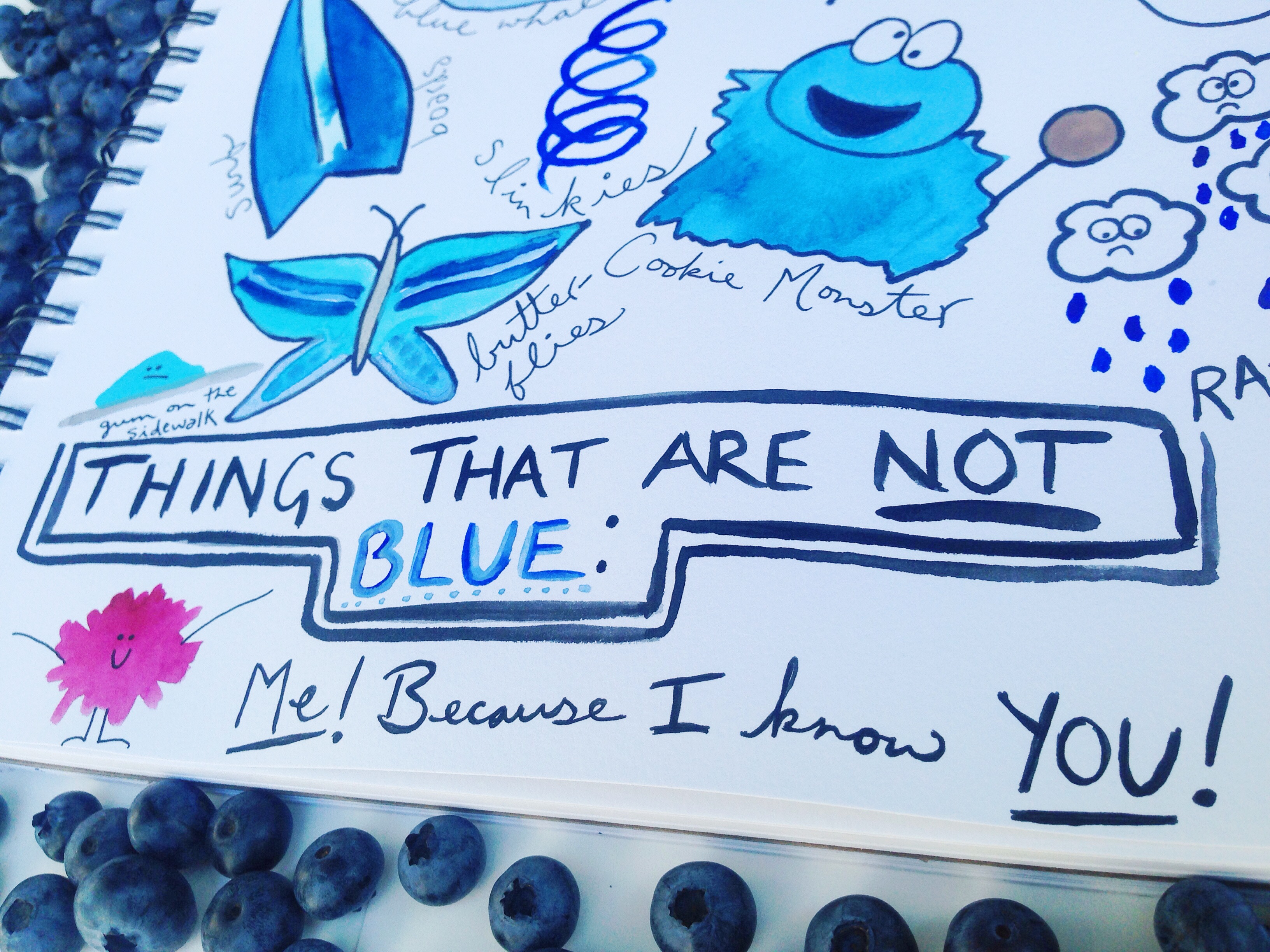 Folk Art Friday Blue Things And Not Blue Things Your