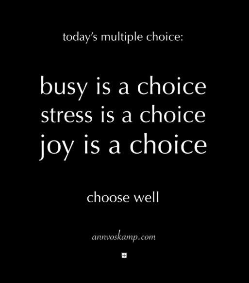 busy-is-a-choice