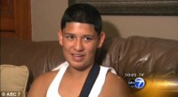 13-Year Old Boy Hit by Six Bullets Protecting His Friend from Gunfire