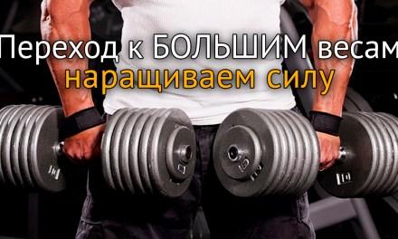 Наращиваем силу: переход к большим весам