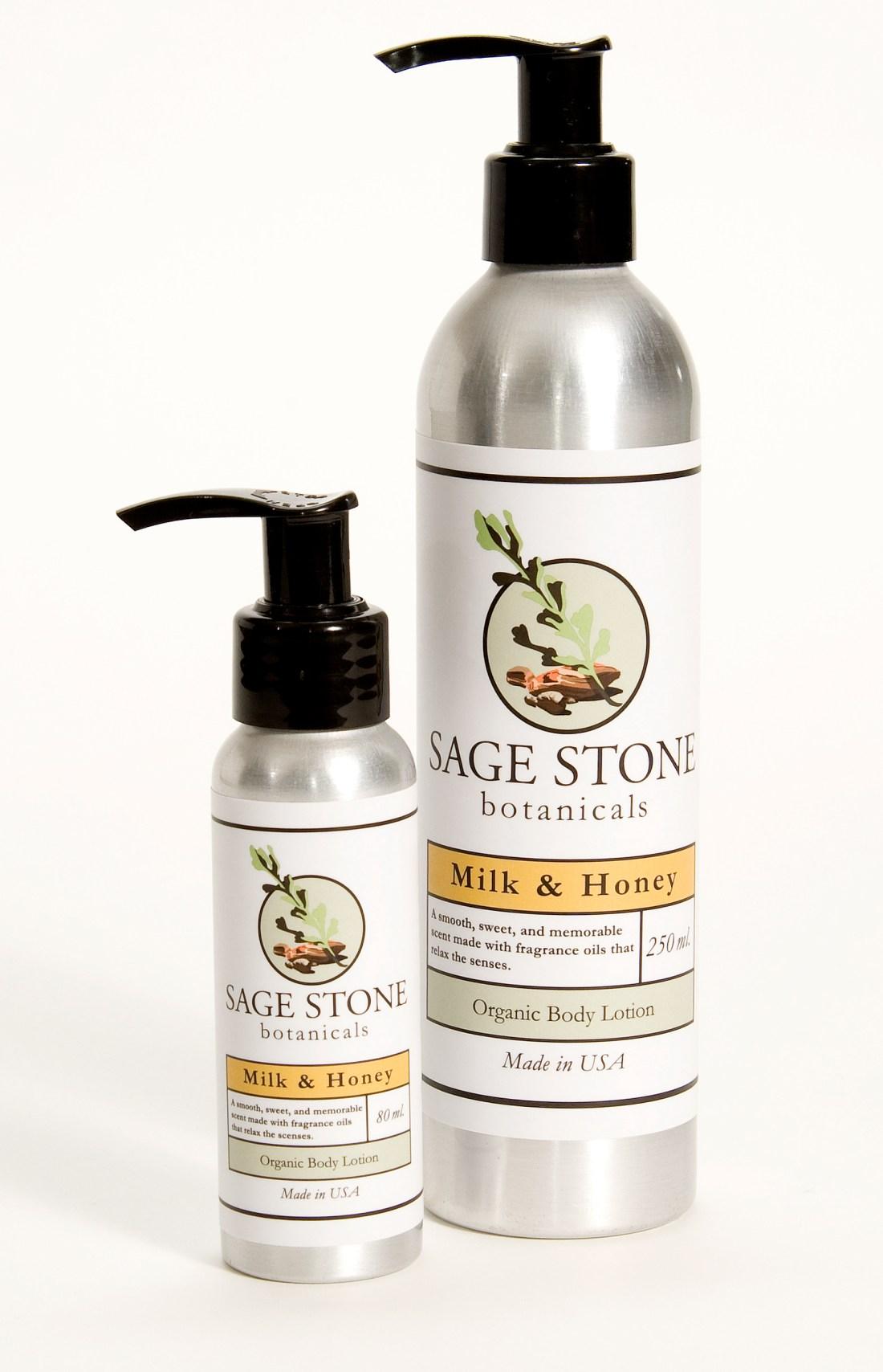 Custom Labels for Sage Stone Botanicals