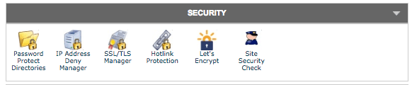 Let's Encrypt Button