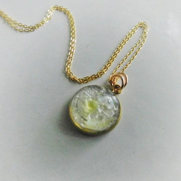 bubble necklace gold