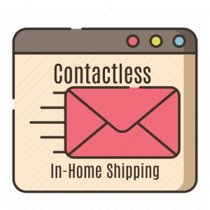 Digital Shipping Service for Sending Milk (In-Home Contactless Shipping)