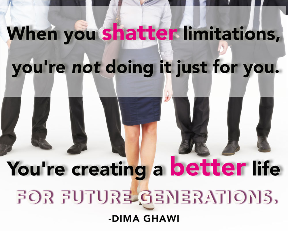 Step into Leadership with Dima Ghawi (Video)