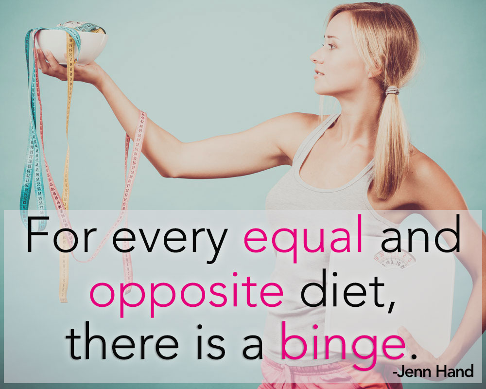 Ditch the Diets & Find Peace with the Scales