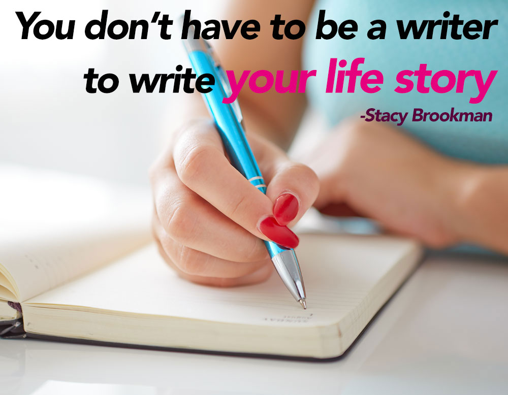 Telling Your Life Story with Stacy Brookman (Video)