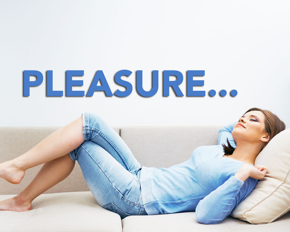 Pleasure is NOT a Dirty Word