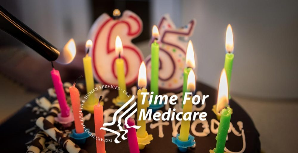 Happy Birthday 65 Time for Medicare