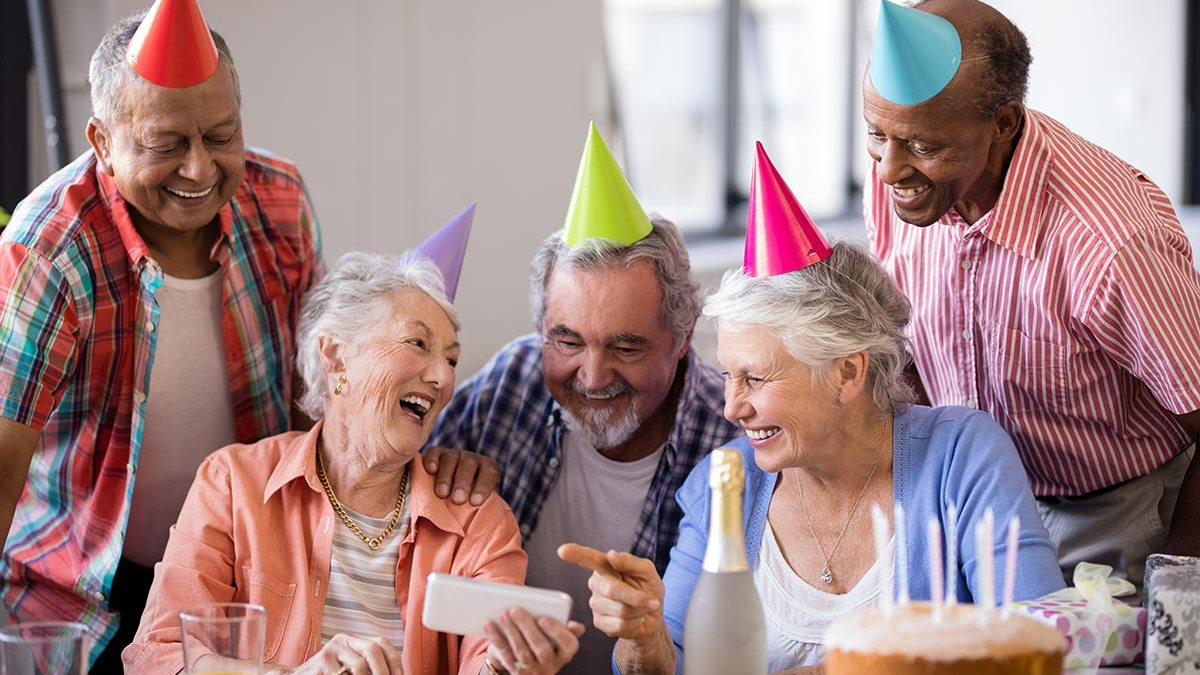 seniors celebrating their 65th birthday getting ready for Medicare Advantage with Your Care Rep