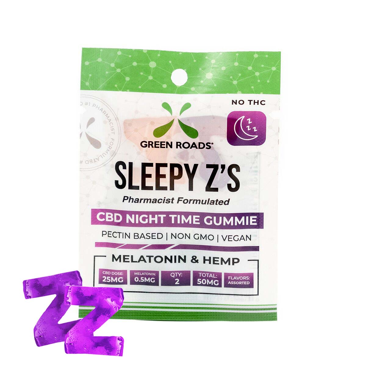 50 MG Sleepy Z's (2 Doses) $9.50