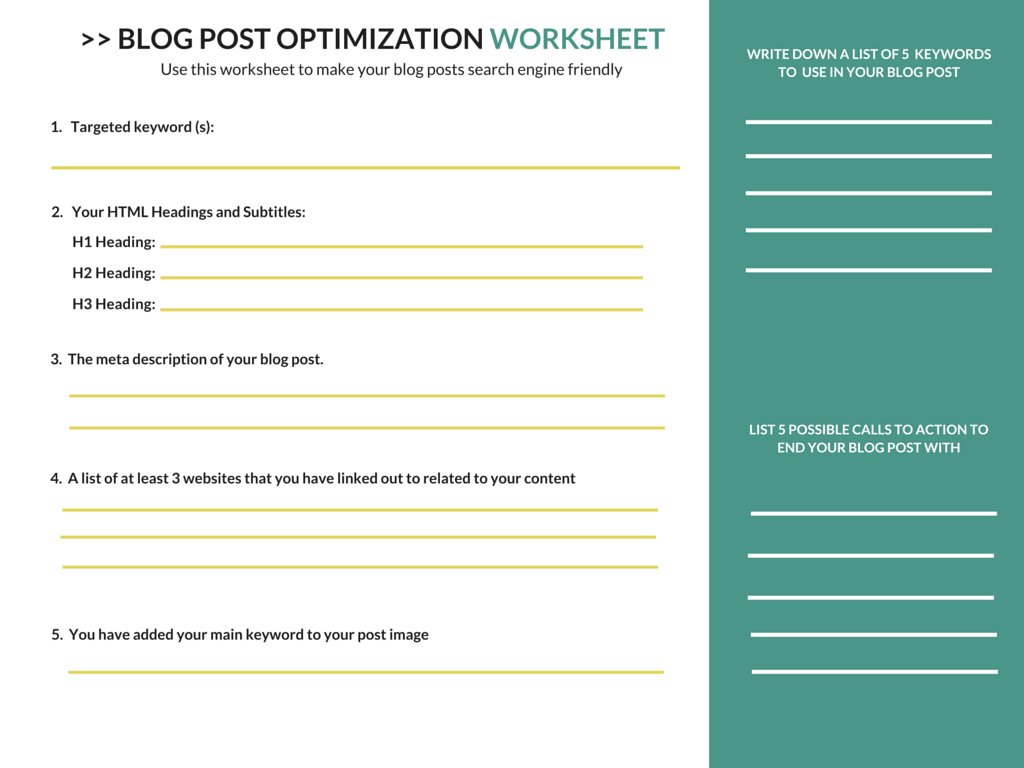 Blogger Seo The Rookies Guide To Optimizing A Blog Post