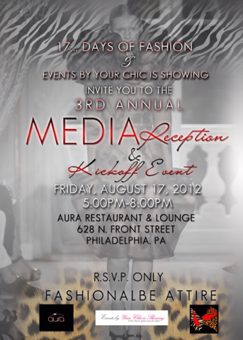17 . . . Days of Fashion Press Reception & Kick-off Event