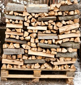 firewood storage - Indianapolis IN - Your Chimney Sweep
