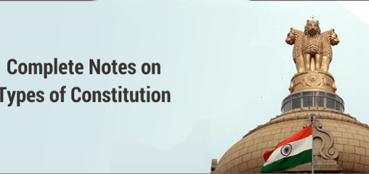 Constitution and its types