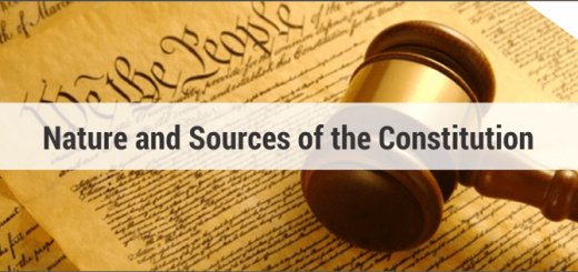 sources of constitution