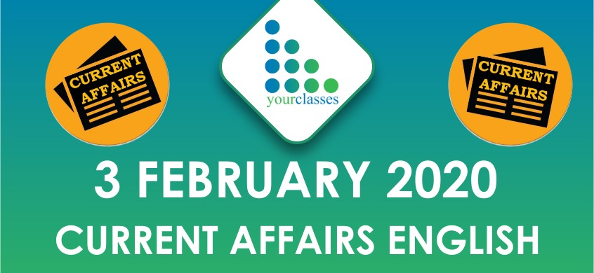 3 feb current affairs in english