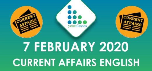 7 feb current affairs in english