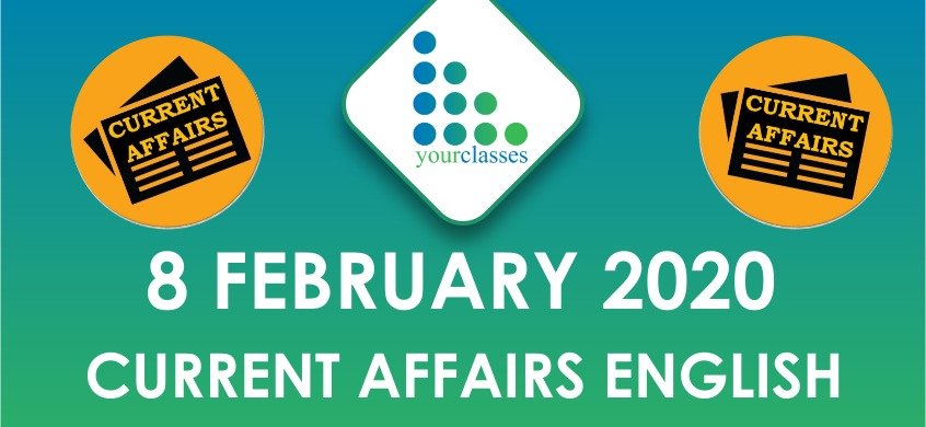 8 feb current affairs in english