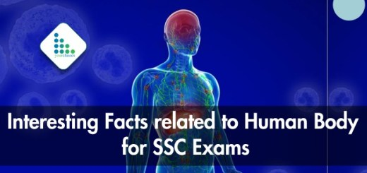 Interesting Facts related to Human Body for SSC Exams (Hindi/English)