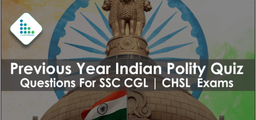 Previous Year Indian Polity Quiz Questions For SSC CGL | CHSL Exams