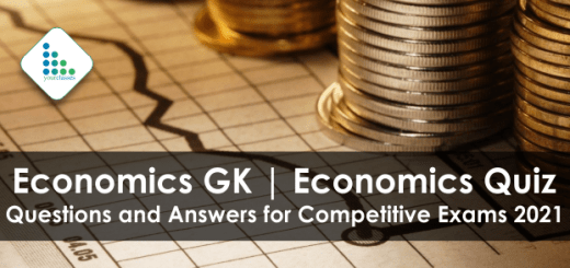 Economics GK | Economics Quiz Questions and Answers for Competitive Exams 2021