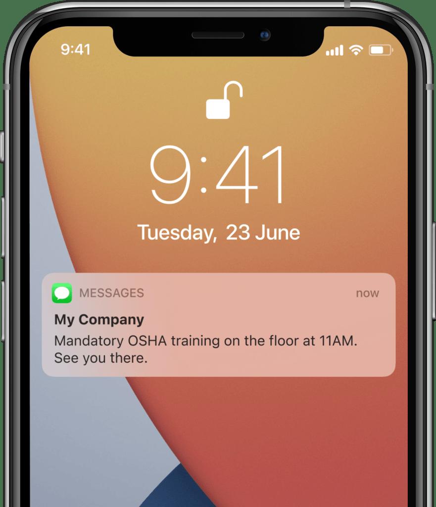 osha-training-text-message